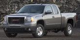 GMC Sierra 2500 HD Lund Elite Wide Style Textured Fender Flares (2000-2007)