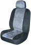 Gray Memory Foam Low-Back Bucket Seat Cover