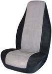 Gray Memory Foam Universal Bucket Seat Cover