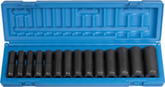 Grey Pneumatic 1/2'' Drive 14 Pc. Deep Length Metric Set