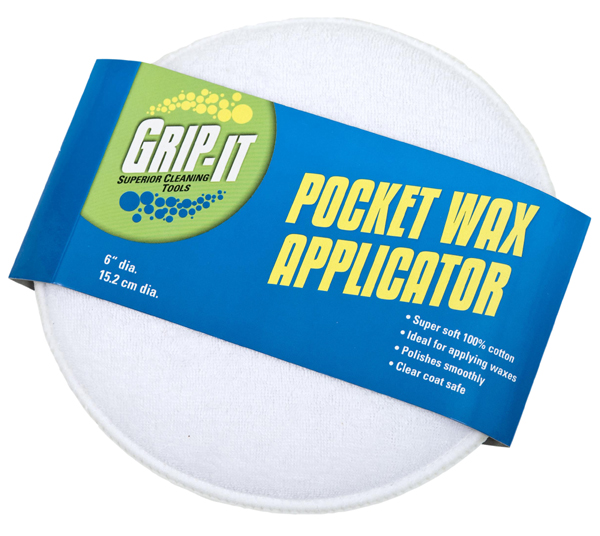 "Grip It 6"" Cotton Wax Applicator"
