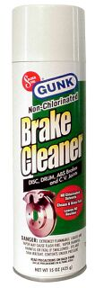 Gunk Non-Chlorinated Brake Cleaner 14 oz