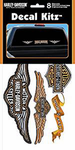 Harley-Davidson 8 Piece Vinyl Decal Kit