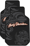 Harley Tribal Art Rubber Floor Mats (Pair)