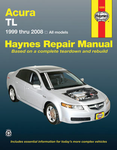Haynes Repair Manual For Acura TL (1999-2008)