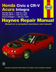 Haynes Repair Manual For Honda Civic & CR-V / Acura Integra (1994-2001)