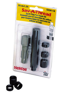 HeliCoil Sav-A-Thread 14Mx1.25 Spark Plug Thread Repair Kit