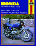 Honda CB400 & CB550 Fours Haynes Repair Manual (1973 - 1977)