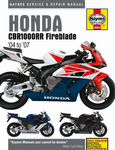 Honda CBR1000RR Fireblade Haynes Repair Manual (2004 - 2007)