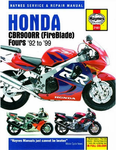Honda CBR900RR Fireblade Haynes Repair Manual (1992 - 1999)