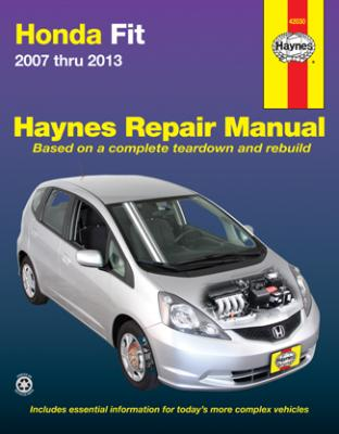 Honda Fit Haynes Repair Manual 2007-2013