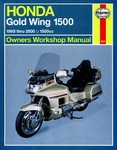 Honda Gold Wing 1500  Haynes Repair Manual (1988-2000)