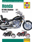 Honda Shadow VT1100 Haynes Repair Manual (1985 - 2007)