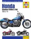 Honda Shadow VT600 & VT750 Haynes Repair Manual (1988-2014)