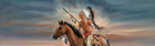 Indian - Legends of the West Rear Window Decal