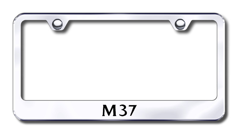Infiniti M37 Laser Etched Stainless Steel License Plate Frame