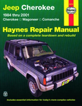 Jeep Cherokee Haynes Repair Manual (1984-2001)