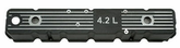 Jeep CJ 4.2L Black Aluminum Valve Cover (1981-1986)