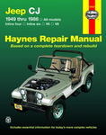 Jeep CJ Haynes Repair Manual (1949-1986)