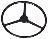Jeep CJ Replacement Black Steering Wheel (1945-1964)