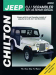 Jeep CJ & Scrambler Chilton Repair Manual (1971-1986)
