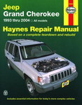 Jeep Grand Cherokee Haynes Repair Manual (1993-2004)