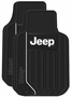 Jeep Logo Rubber Floor Mats (Pair)