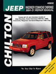 Jeep Wagoneer, Comanche & Cherokee Chilton Manual (1984-1998)