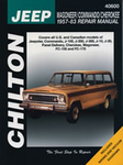 Jeep Wagoneer, Commando & Cherokee Chilton Manual (1957-1983)