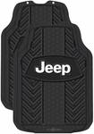 Jeep Weatherpro Rubber Floor Mats (Pair)