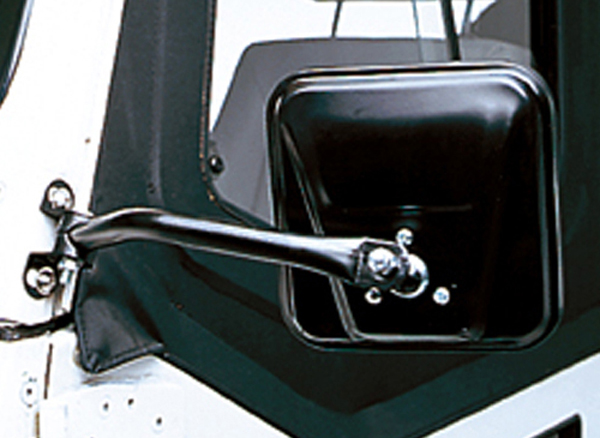 Click here for Jeep Wrangler Black CJ-Style Side Mirrors-Pair 199... prices