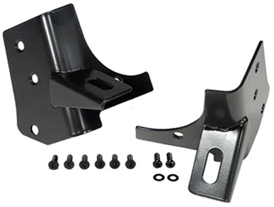 Jeep Wrangler Black Windshield Light Mount Bracket 1976-2006