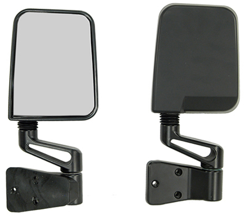 Click here for Jeep Wrangler Black Side Mirrors 1987-2002 prices