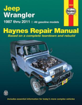 Jeep Wrangler Haynes Repair Manual (1987-2011)