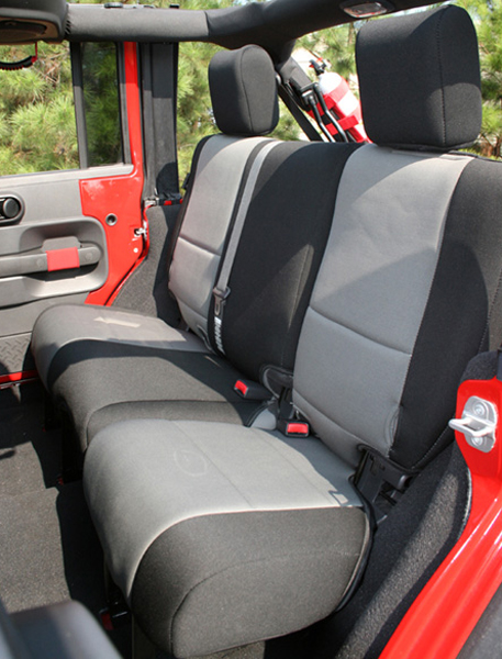 Jeep Wrangler JK 4-Door Rear Seat Cover-Pair 2007-2014