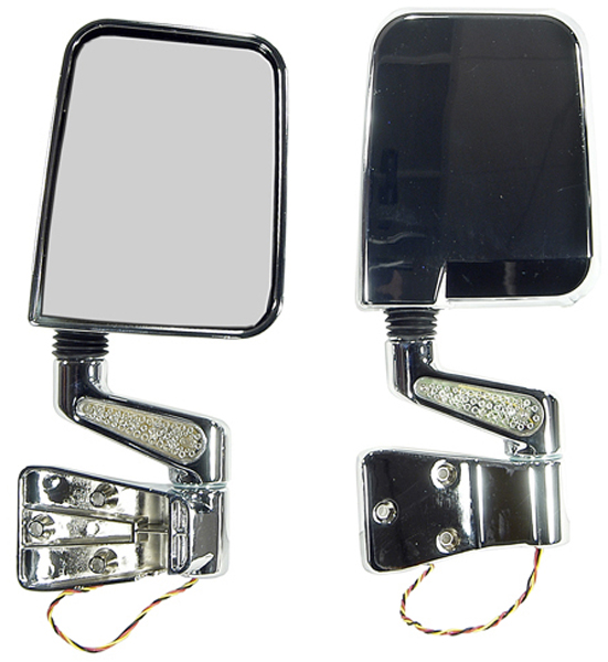 Click here for Jeep Wrangler LED Side Mirrors-Pair 1987-2002 prices