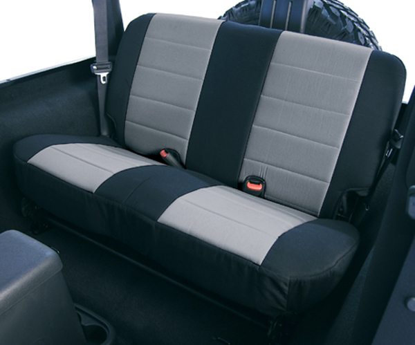 Jeep Wrangler Neoprene Rear Seat Cover 2003-2006