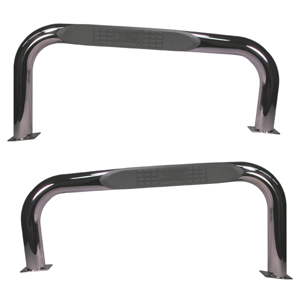 Jeep Wrangler Stainless Steel Nerf Bars-Pair 1987-2006