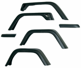 "Jeep Wrangler TJ 7"" Wide 6 PC Fender Flares (1997-2006)"