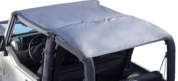 Jeep Wrangler TJ Header Roll Bar Top 1997-2006