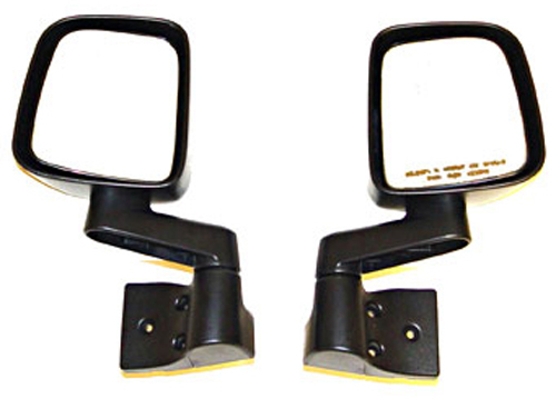 Click here for Jeep Wrangler & Unlimited Black Side Mirrors 2... prices