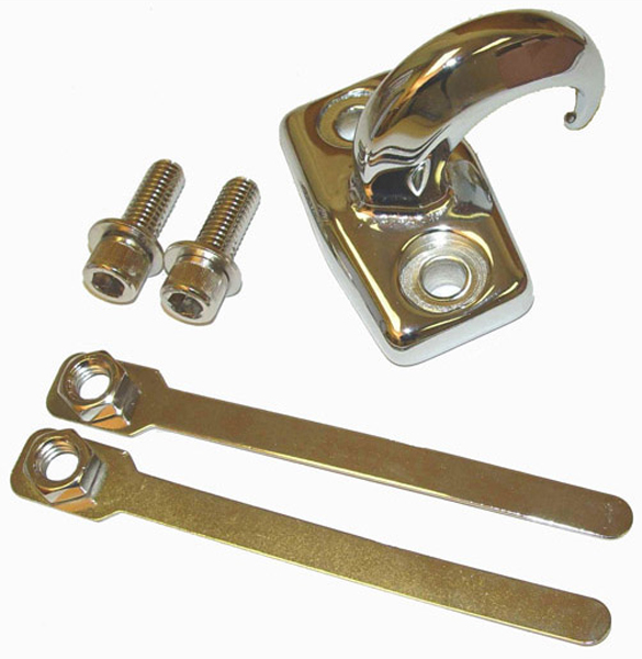 Jeep Wrangler/Unlimited Rear Chrome Tow Hook 1997-2006