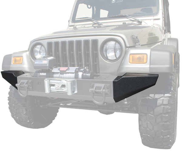 Jeep Wrangler XHD Front Bumper Ends 1976-2006