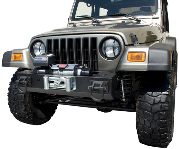 Jeep Wrangler XHD Front Bumper Winch Mounted Bumper Base 1976-2006
