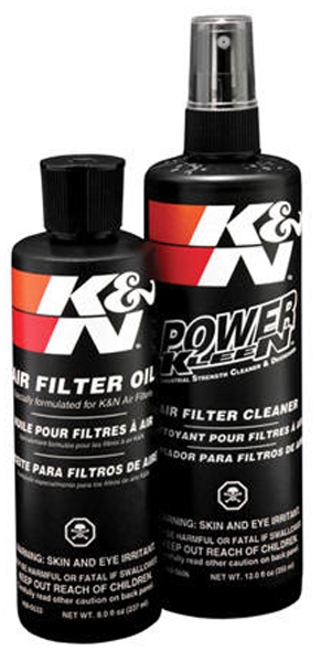 K&N Air Filter Cleaner & Recharger Kit