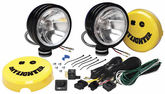 KC Hilites Daylighter Black Halogen Driving Light Kit