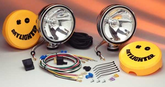 KC Hilites Daylighter Halogen Chrome Long Range Off-Road Light Kit