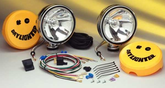 KC Hilites Daylighter Halogen Polished Steel Long Range Off-Road Light Kit
