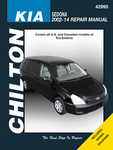 Kia Sedona Chilton Repair Manual (2002-2014)