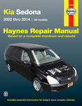 Kia Sedona Haynes Repair Manual (2002-2014)